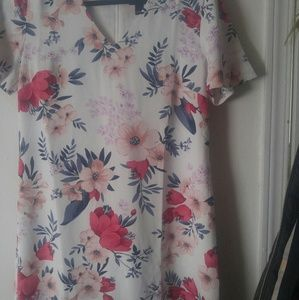 Two darling flowered dresses